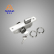 stainless steel iron metal aluminum security small price upvc interior manual hidden glass sliding mortise door lock