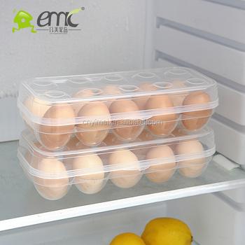 Emc Plastic Refrigerator Egg Storage BoxEgg Holder Refrigerator