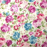 online shop printed cotton material poplin fabric textile cloth for woman shirt garments