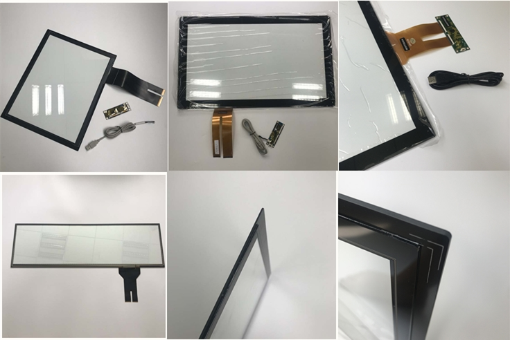 21.5 inch USB PCAP overlay kit Capacitive touch screen panel
