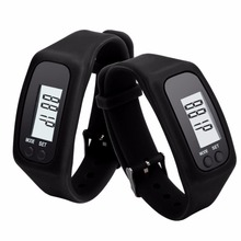 2018 Amazon Hot Sell Walking Run Step Distance Calorie Counter Smart Watch Bracelet Pedometer