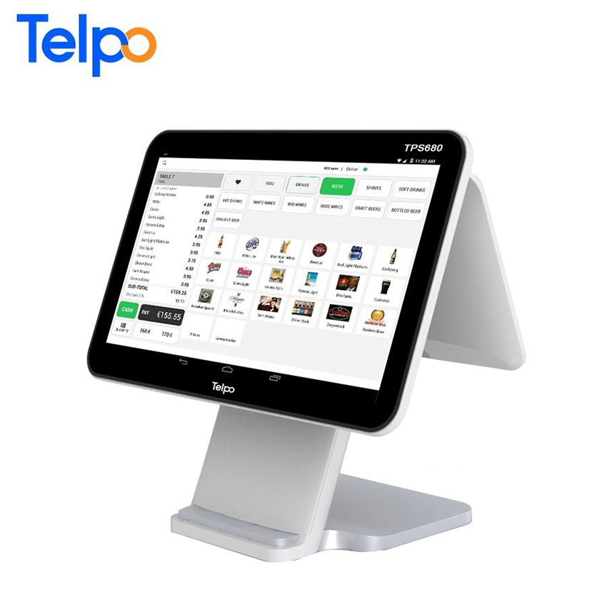 Telpo Tps680 Android Dual Screen Cash Register Pos For ...