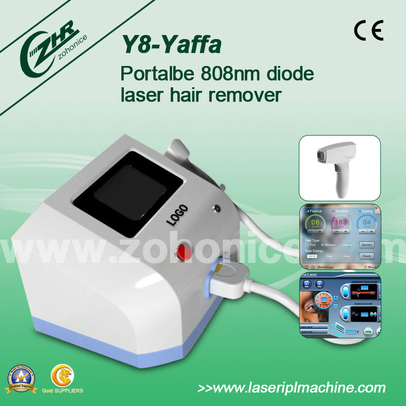 Distributors wanted portable diode lasr 808nm hair removal machine