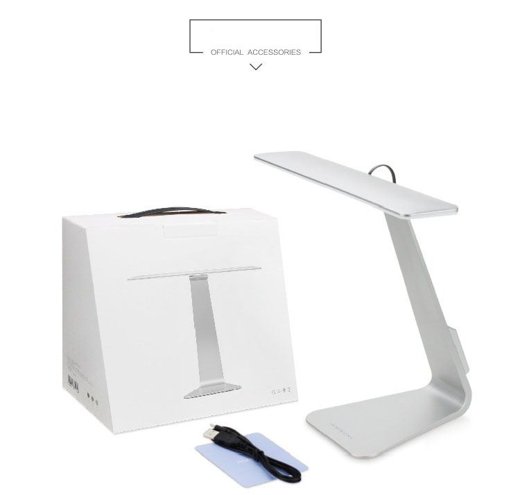 Creative ultra-thin LED light/ Eye reading lamp modern simple folding