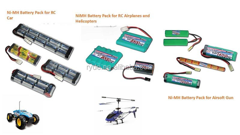 Airsoft gun battery 9.6V 4200mAh 10C rc Crane stock NI-MH battery