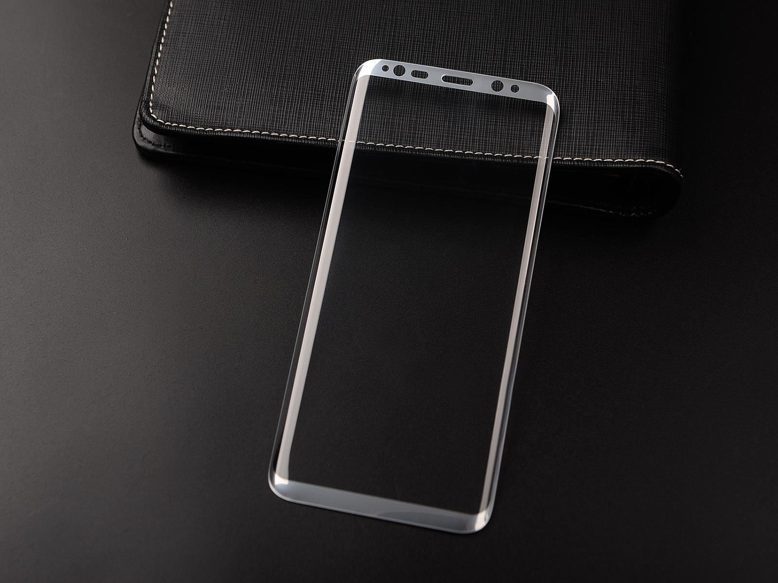3D Full Curved Screen Protector, For S8 Tempered Glass Screen Protector