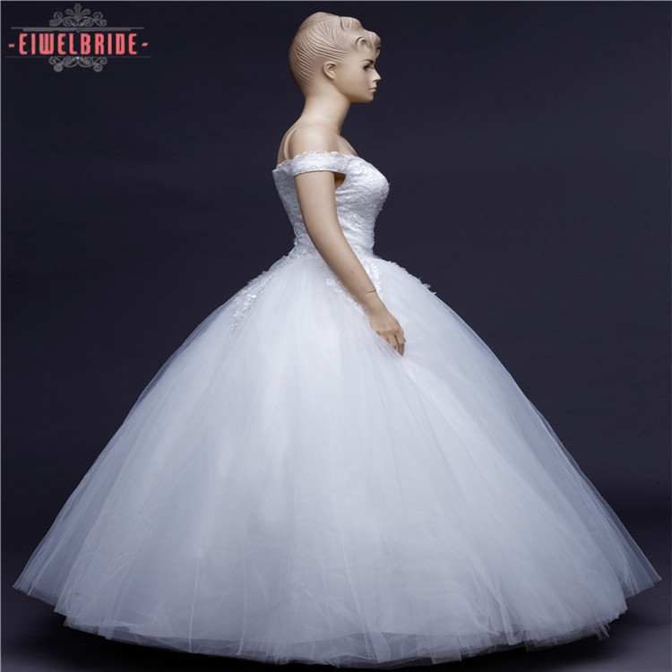 Eco-friendly Off Shoulder Bridal Wedding Ball Gowns Dress Patterns ...