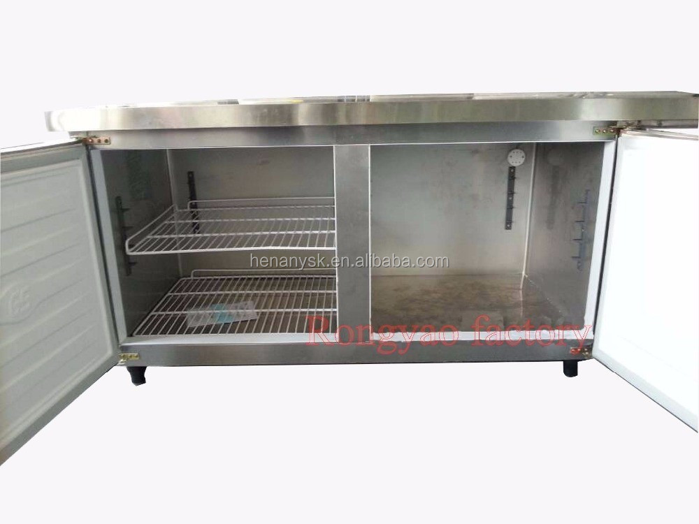 IS TT0.4L2TD 0~-15Refrigerated Table, 1.8 M Brass Refrigerated Bench Refrigerator