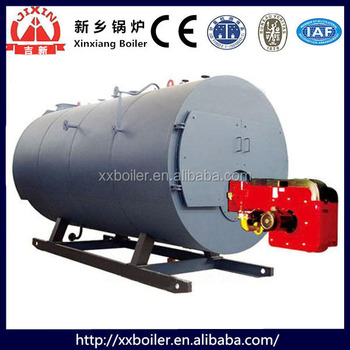 Horizontal Corrugated Furnace Small Natural Gas Boiler With Gas ...