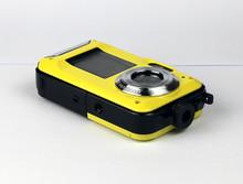 Max 24MP Double Screens Waterproof Digital Camera 2.7 inch +1.8 inch Screens HD  CMOS 16x Zoom Camcorder waterproof Camera