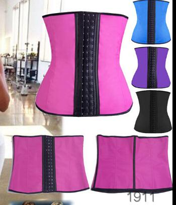 Wholesale Slimming Ruduce 3 Hooks Faja Latex Colombia Waist Shaper Corset
