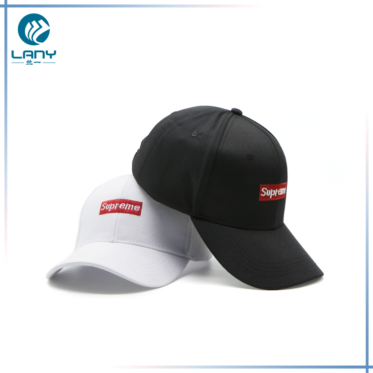 High quality white with red label branded brimless baseball <strong>cap</strong>