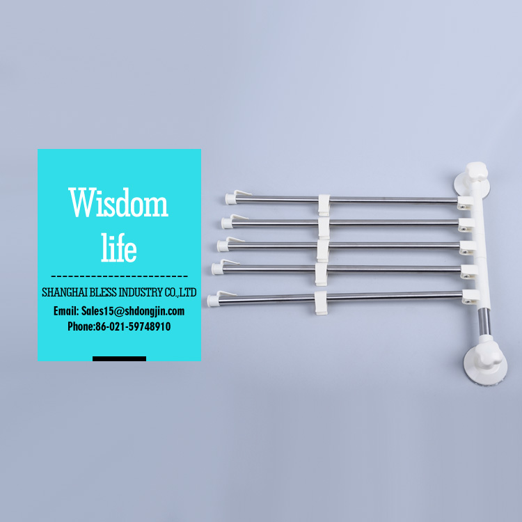 Bathroom accessories Suction wall cup towel shelf towel holder stainless steel towel rack