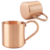 custom simple cute Moscow Mule Copper Mug Copper Plated Stainless Steel novelty mug