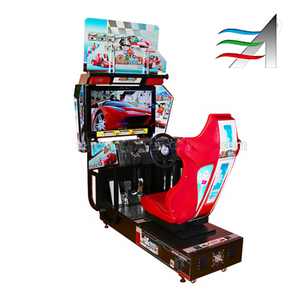 Wholesale Racing car 2 games in 1 Amusement Game Machine Driving car Sonic and outrun arcade game machine
