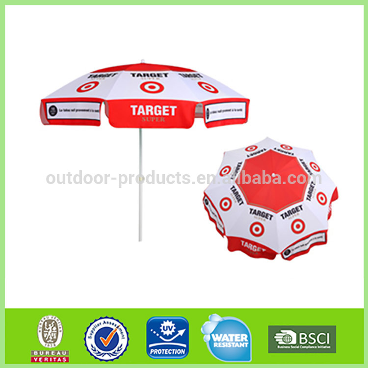 Most popular Factory wholesale Sun and rain Aluminum Straight stand umbrella