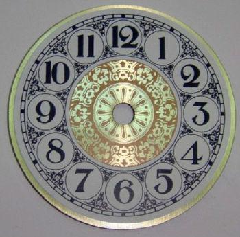 Dials Metal Clock Face For Decorative Quartz Analog Wall