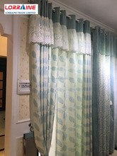 color linen finished products Living room curtain fabric quality modern brief natural color Bedroom Curtain