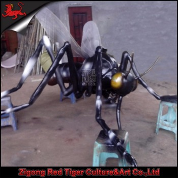 theme park giant animated animal and insect robot model for sale