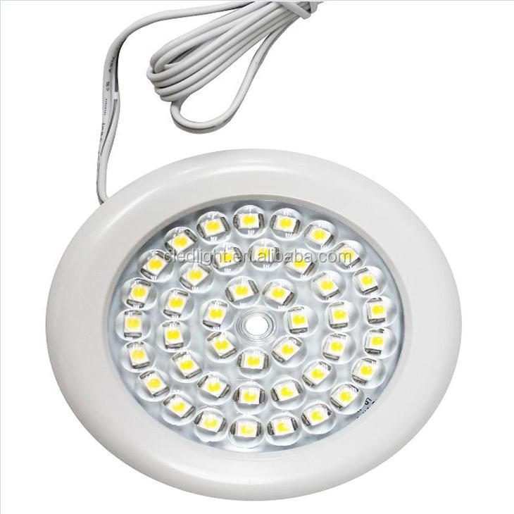 Ultra Slim Dimmable Led Puck Light Led Cabinet Light With Ul