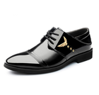 class shoes men for business,new arrive dress shoes,good quality man synthetic leather shoes