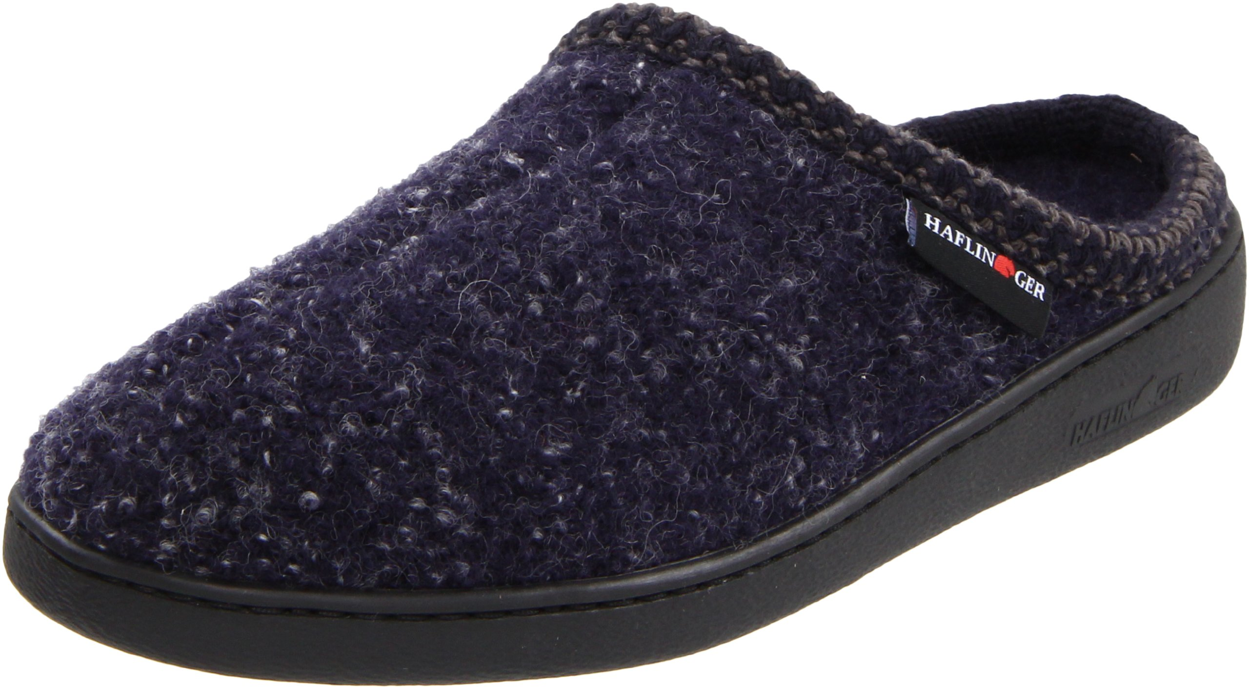e8143535ec8 Get Quotations · Haflinger Unisex AT Boiled Wool Hard Sole Slipper