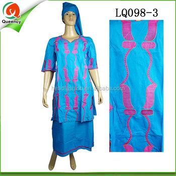 African Women Clothing Nigerian Style Dashiki Dress Made Of Linen