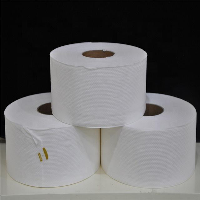 6 X Jumbo Rollos de papel higiénico 2 capas 300M Blanco 6 X Rollos Jumbo Rollos de papel higiénico