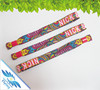 High quality custom events textile wristband