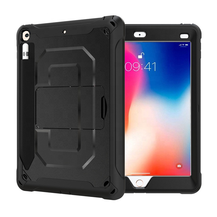 Heavy Duty Bumper Tablet Case With Hand Strap &amp; Shoulder Belt For <strong>Ipad</strong> 9.7 2017 2018 5th 6th