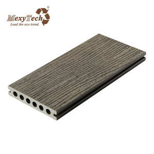 cheap wpc decorative long lifetime plastic dock decking