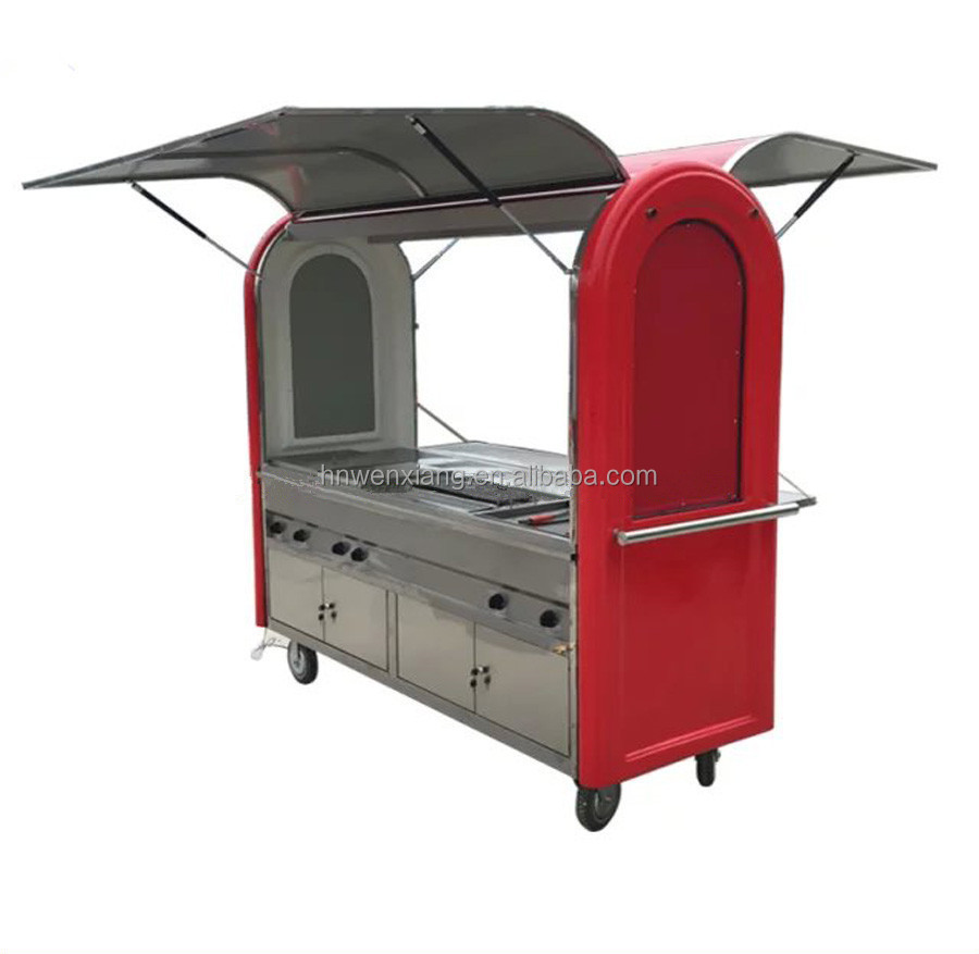 Hamburgers Carts Food Cart for Sale/Food Vending Carts