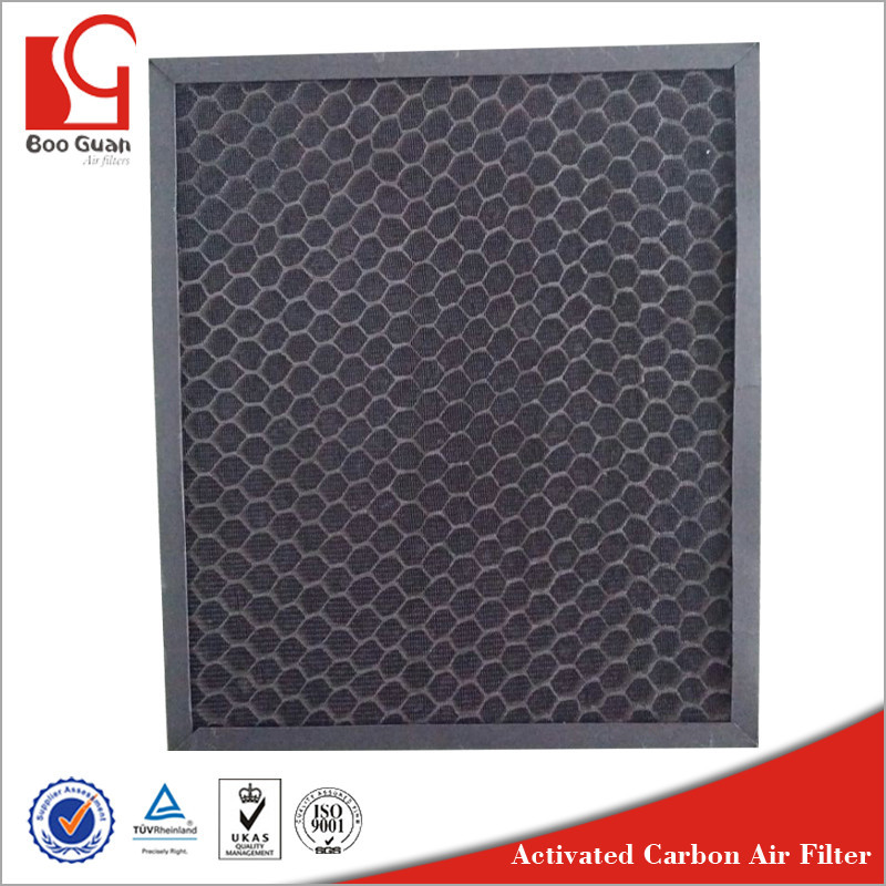 Best sell durable honeycomb eco active carbon air filter