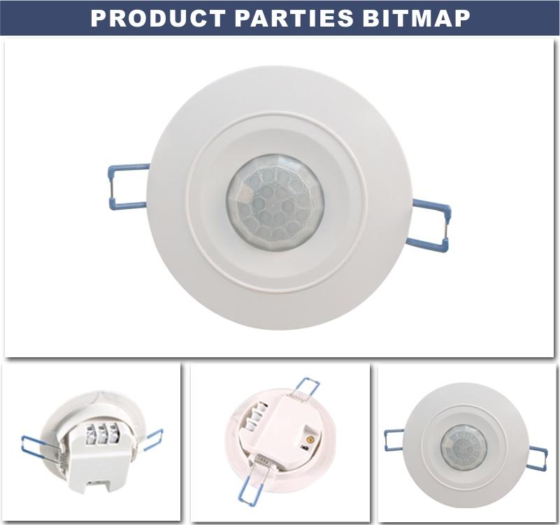 Tdl-9959j Pir Motion Sensor Light Control Switch @1000w For Led ...