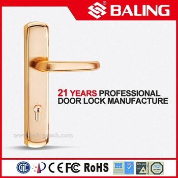 european solid brass front bedroom door locks design door handle