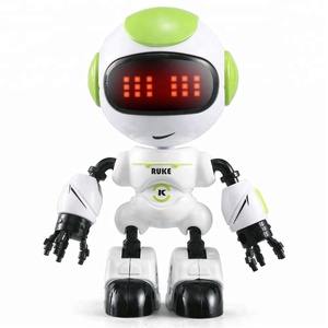 Hot sale jjrc R8/R9 beautiful small package mini smart robot kids toy with touch control