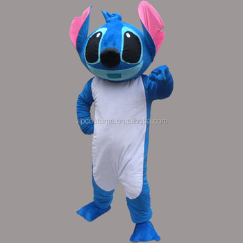 big head stitch cartoon character fancy dress mascot costume halloween
