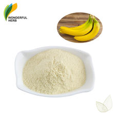 Freeze Dried peel extract water solubility green Pure Banana Powder