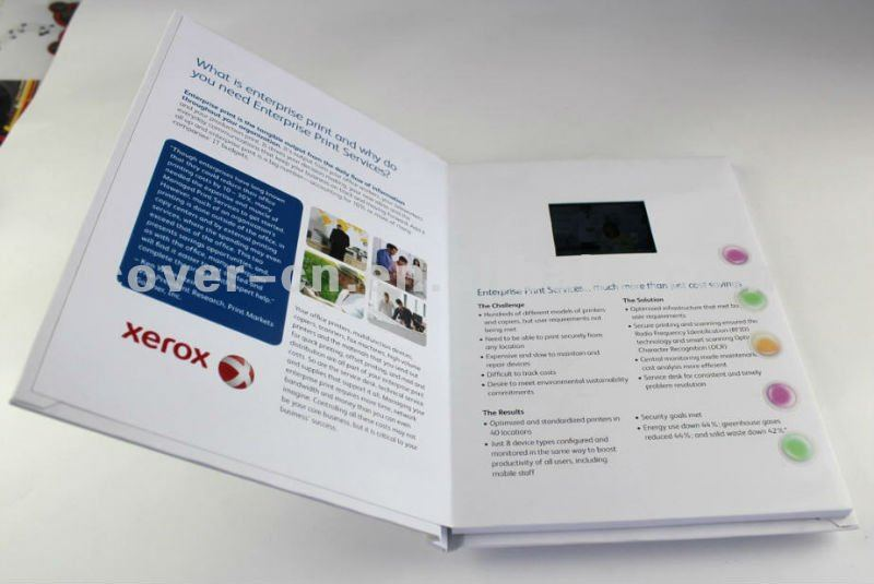 Xerox 2.4 Inch Video Print Greeting Cards/Video Booklets