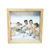 Double sides glass and Wooden picture photo frame