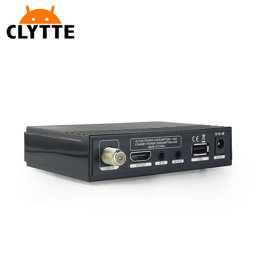 Clytte V7S HD Receptor DVB-S2 <strong>Satellite</strong> TV Receiver Decoder With 5 LINES CCCAM + USB WIFI support 3000 channels TV