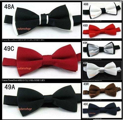 Bow ties are available in band collar, clip-on and self-tie styles, and many have matching pocket squares and cummerbunds, too. On a daily basis we fill large orders for businesses, restaurants, caterers, churches, choirs, schools, universities, clubs, fraternities, individuals, you name it.