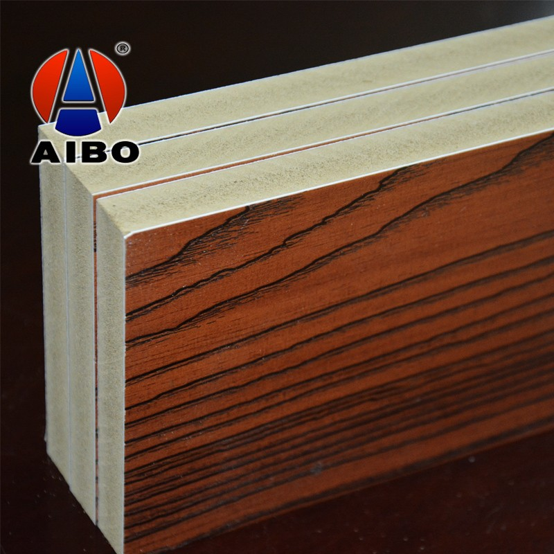 Home Decoration 4x8 Wood Grain Laminated Board For Kitchen