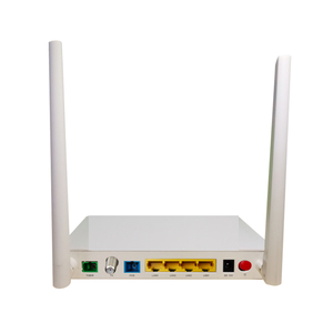 ftth 1 ge 4 port epon gpon onu ont wifi catv fiber optic network router  compatible with olt huawei zte