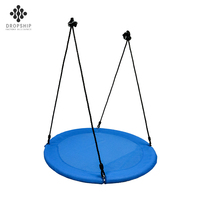 Dropship Hot selling product saucer swing seat for baby hanging chair swing set outdoor