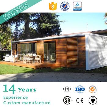 Baosun demark pre manufactured shipping container home for for Pre built shipping container homes