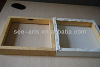wooden canvas painting stretcher bar
