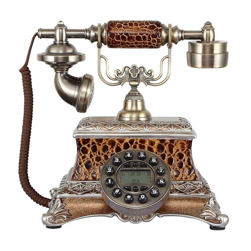 retro Telephone Retro Telephone European Style Landline Office Fixed Telephone Home Creative Fixed Landline 2525cm