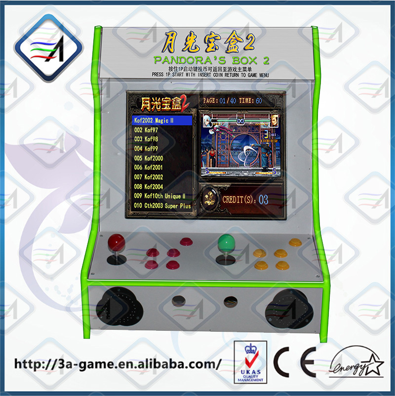 2015 New Product Coin Operated Arcade 400 In 1 Multi Pandora's Box ...