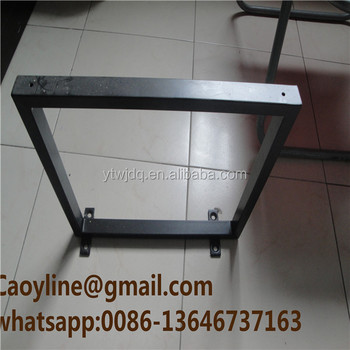 New Triangle Base Metal Table Legs,metal Legs For Beds,table Legs Brace